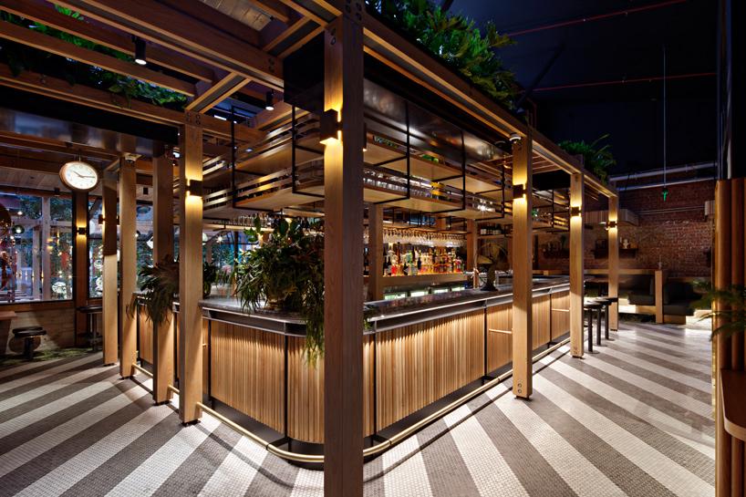Techne Architects Design Garden State Hotel