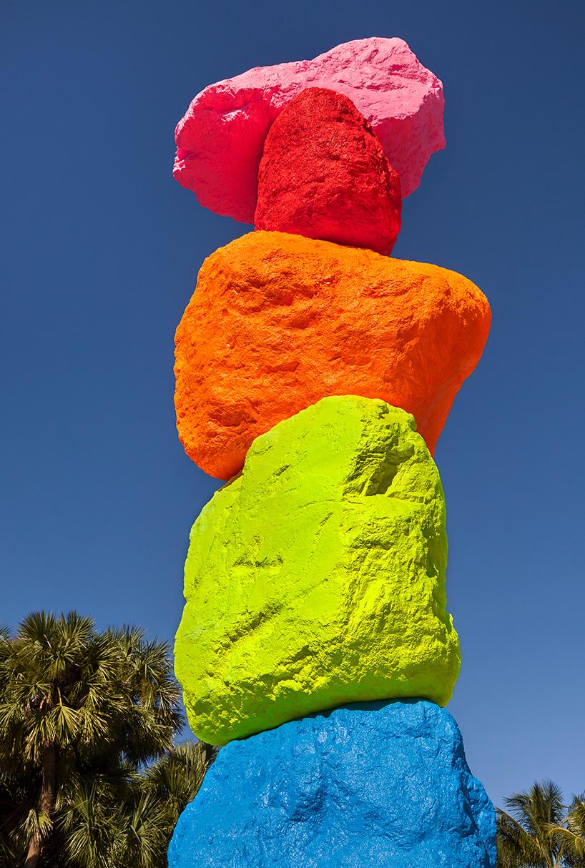 The Bass Unveils Ugo Rondinones 41 Foot Tall Miami Mountain
