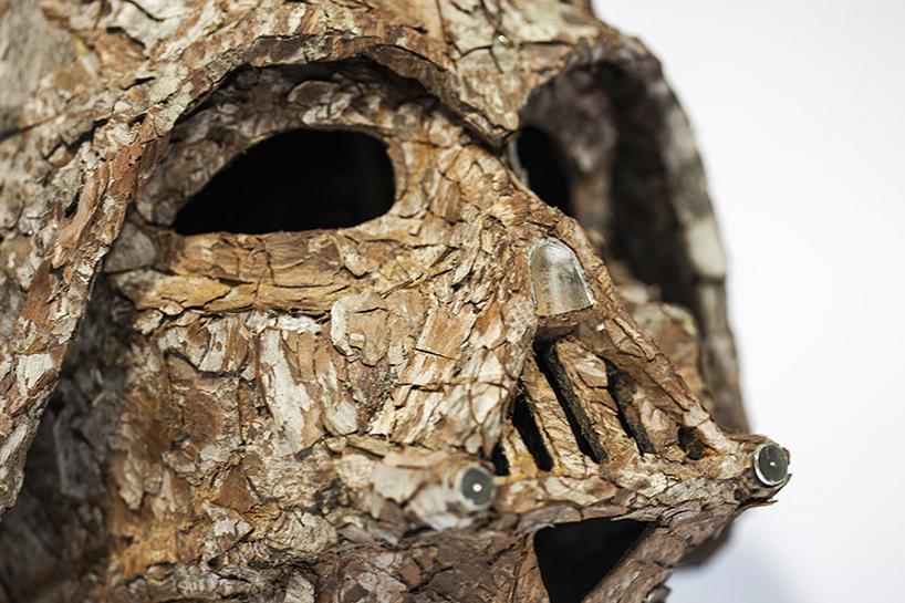 Christophe Guinets Arborous Armor The Bark Vader Helmet