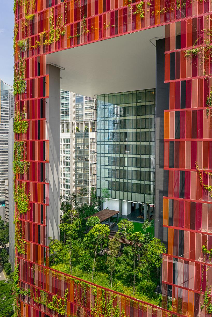 WOHA oasia hotel singapore designboom