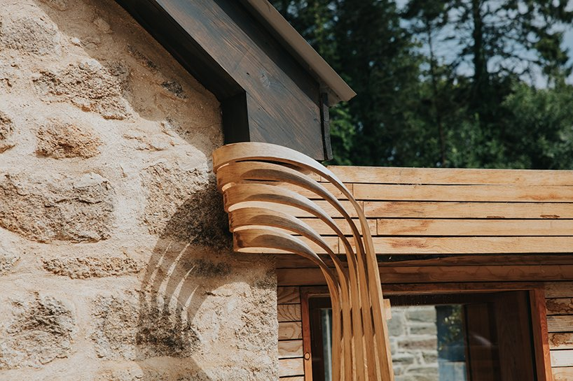 Tom Raffields Steam Bent Wooden Home In Cornwall