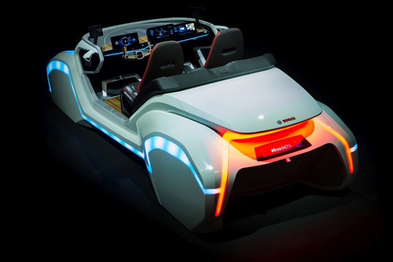 bosch gets personal with its CES 2017 concept car