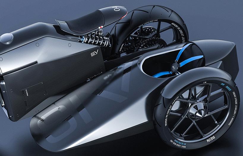 great japan carbon fiber motorcycle concept designboom