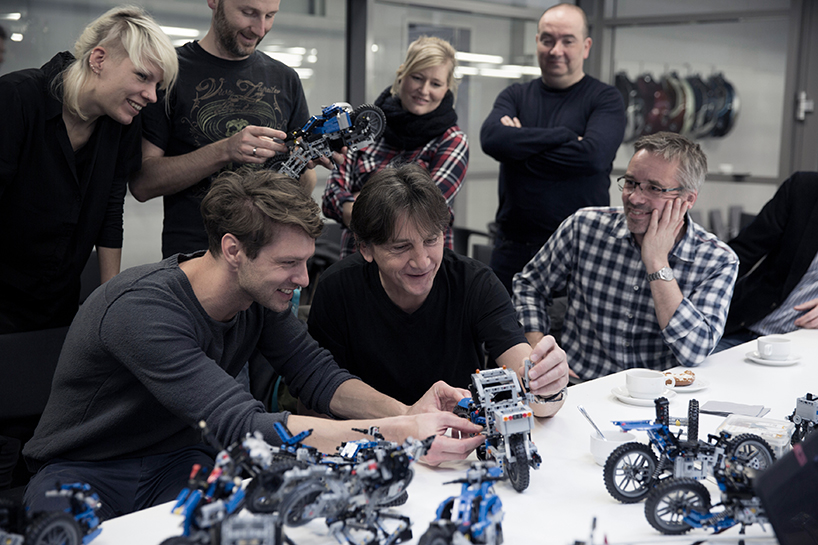 Bmw Hover Bike Concept Collaboration With Lego Technic