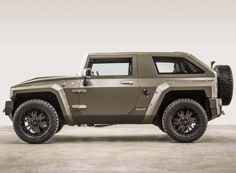 The USSV Rhino XT Is A Luxury SUV Built For The Streets