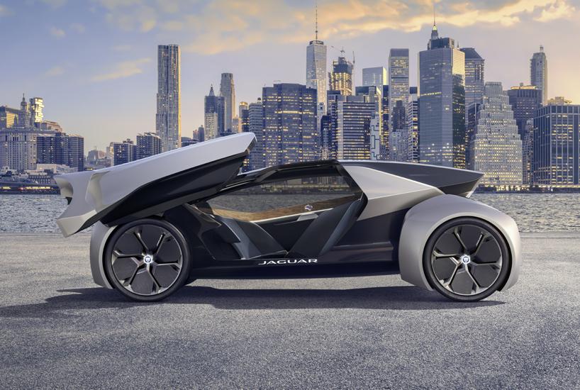 Jaguar S Future Type Electric Self Driving Concept Can Be