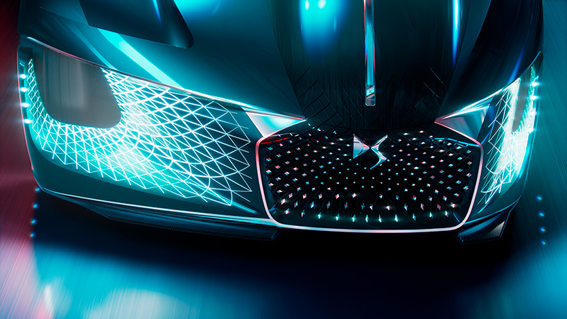 A Look Under The Hood Of The Ds X E Tense The Car From 2035