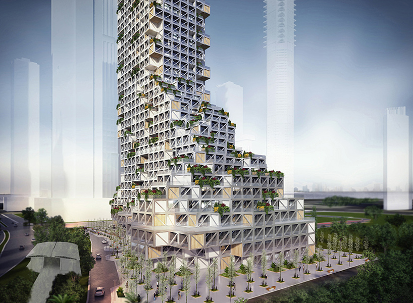 Rgg Architects Challenges Vertical Urban Density In Dubai