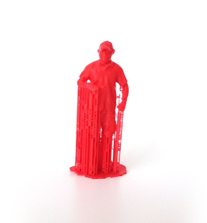 Action Figure w/ Supports