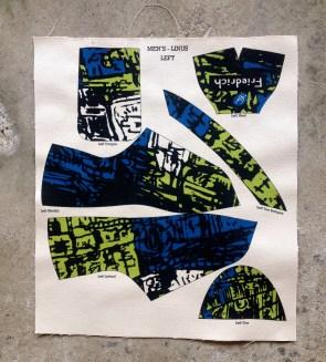 """Hong Kong"" shoe upper pattern"