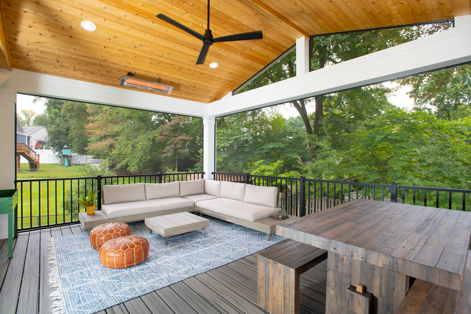 top 5 things to consider when adding electric to a screened porch