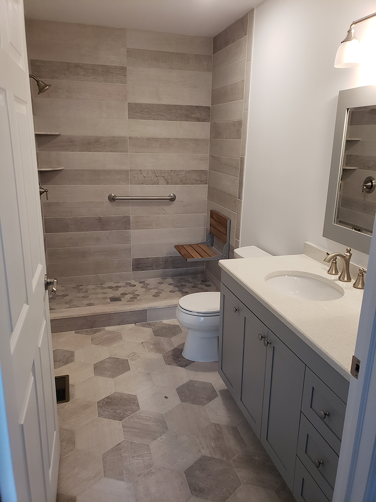 Folding Bench Seat For A Shower Design Build Planners