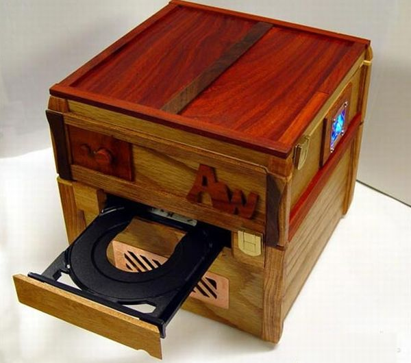 AtomWood Handmade Wooden PC