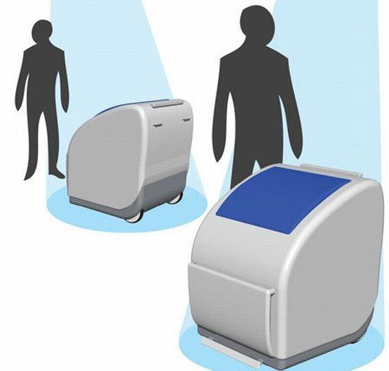 modular recycling bin