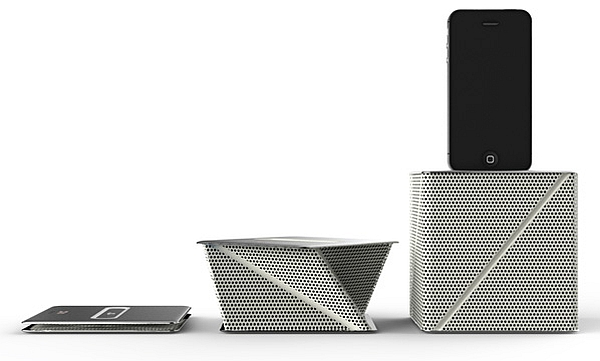Origami-inspired Viva Docking Speaker