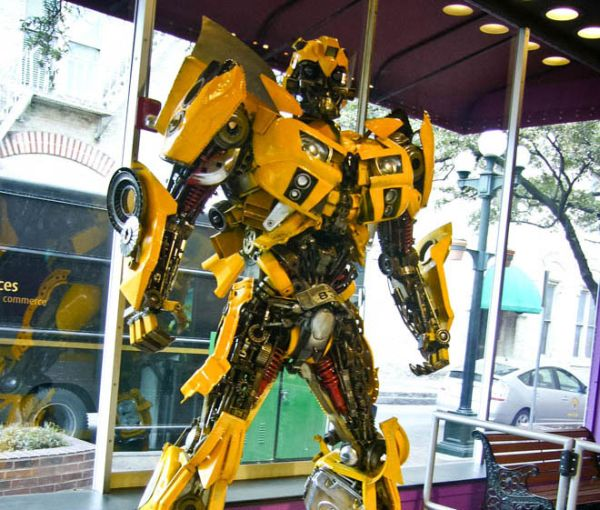 Transformers from scrap parts