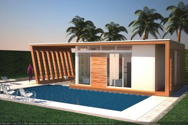 wooden hosue concept