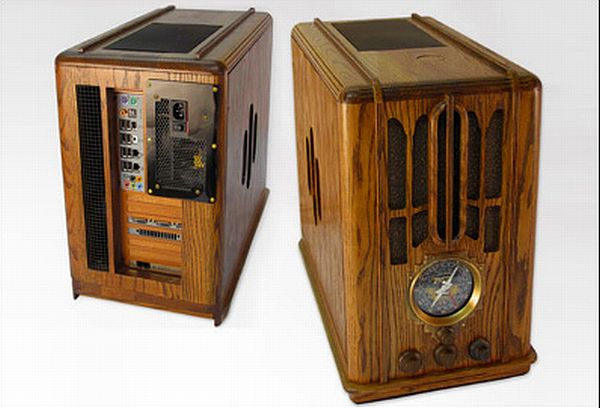 Wooden PC Mod