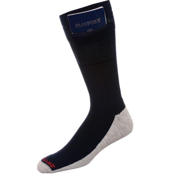 Zip it Pocket Socks