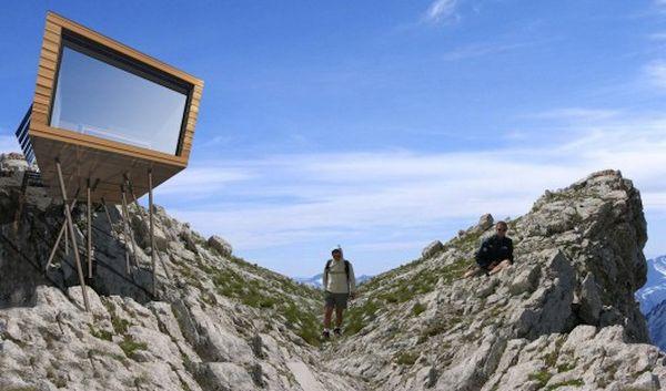 Eco-Temporary Refuge  by Cimini Architettura