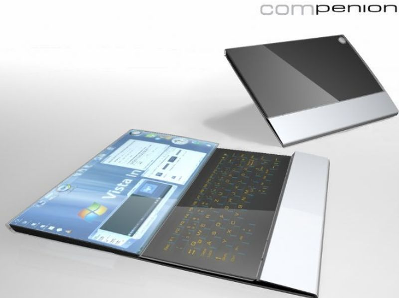 Compenion laptop design