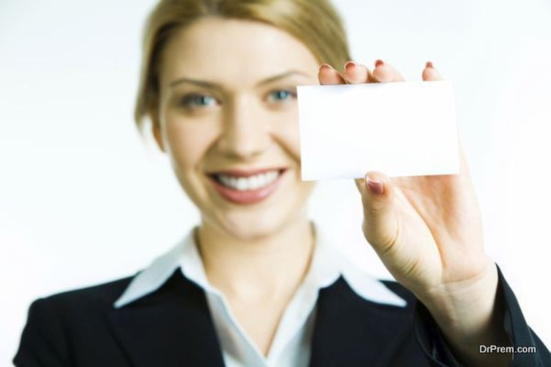 showing-Business-Card
