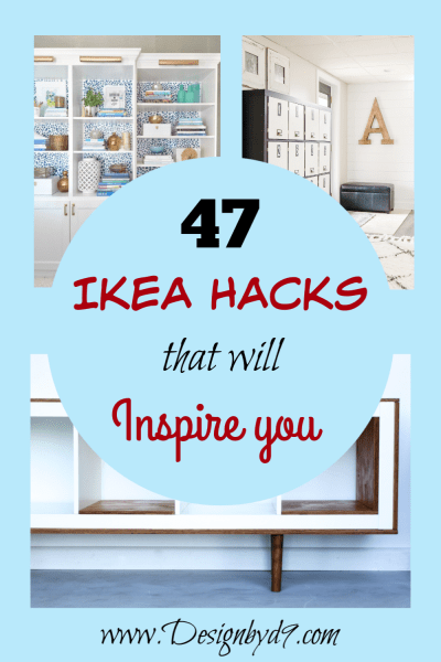 47 amazing Ikea hacks to inspire you, including Ikea kallax, expedit, hemnes, billy, besta, ivar nordlii, vissjo, Marius, lack, sektion, lack, duktig, factum, trofast. Includes build-ins, stencils, wallpaper, paint. Furniture hacks includes coffee tables, bookcases, mirrors, stools, dressers, chests, desks, closets Hack sales include mid century modern, bar, console, tv cabinet, desks, lockers, mudroom, lighting, pantry, retro, overlays, charging stations, pet hacks for cats, dogs and hamsters! Something for everyone!