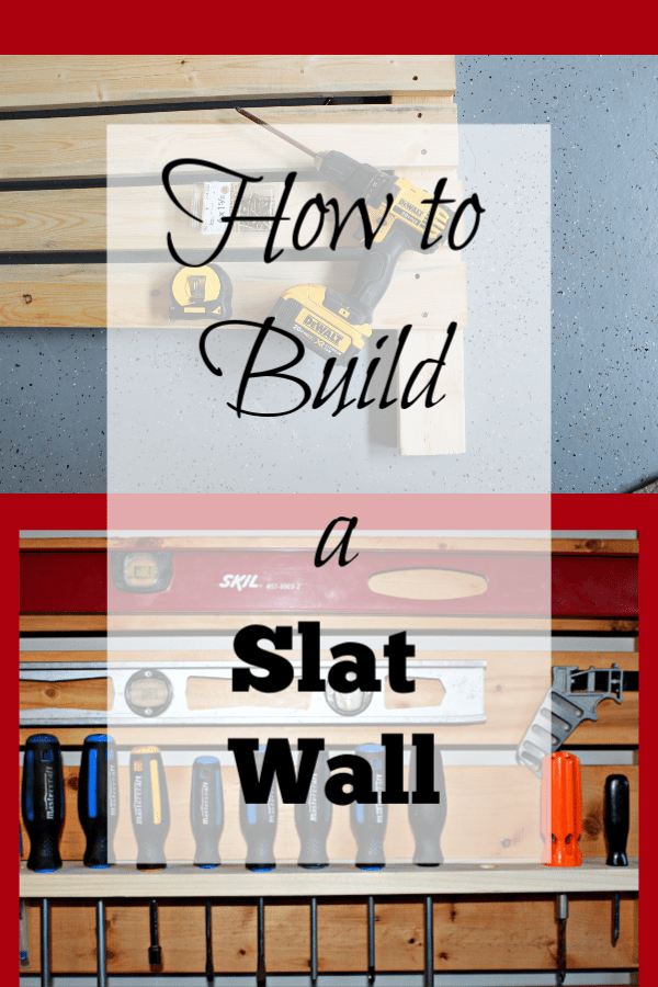 How to build a garage slat wall. Forget peg board. Let's build a slat wall for the garage to keep your tools organized and at the ready. So when a project idea hits you, you're ready to go!