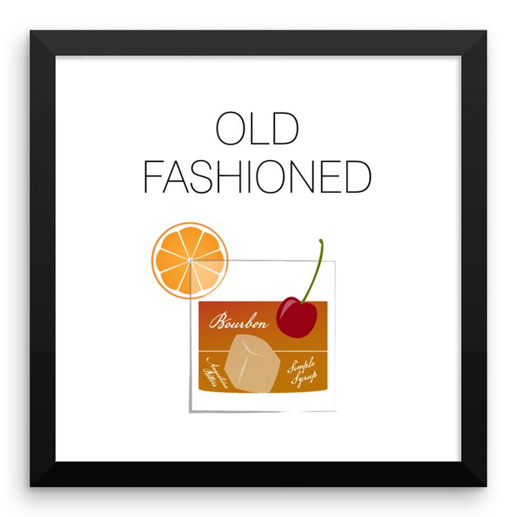 Old Fashioned Framed Print