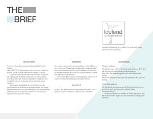 a design brief 1