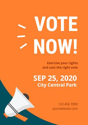 free vote poster designs designcap