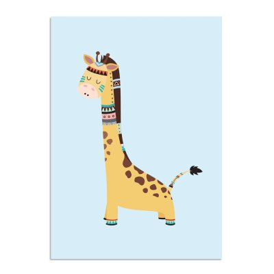 Tribal-Giraffe-A3-2