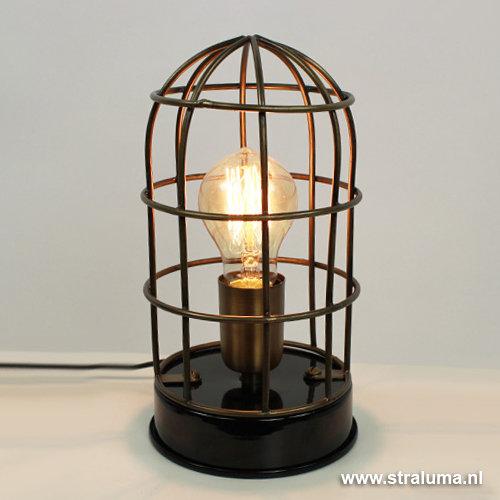 Stoere industri le tafellampen designclaud for Stoere industriele wandlampen
