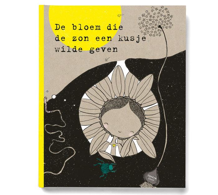 Winactie: Zeefdruk & Kinderboek: De Bloem die de zon een kusje wilde geven