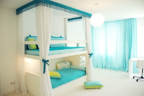 Slumber Parties & Storage: How to Give Your Teenage Girl ... on Teenage Beds For Small Rooms  id=64111