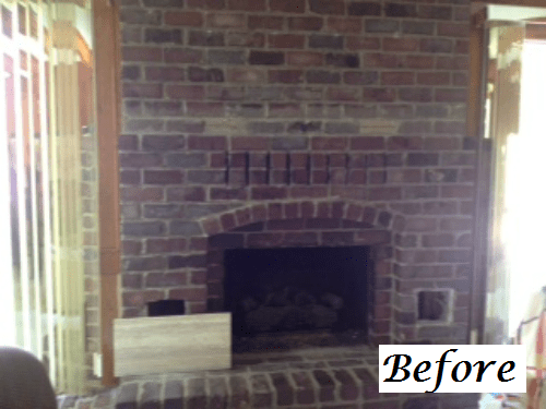 Fireplace Before Amp After Transformations From Our Design