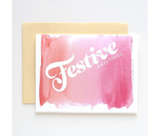 25ish Of My Favorite Christmas Cards Design Crush