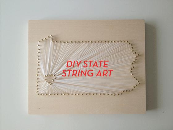 Diy State String Art 1 Design Crush