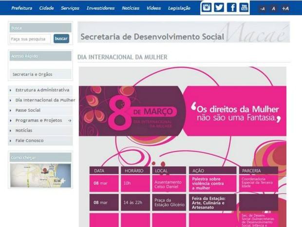 pagina_internet_macae