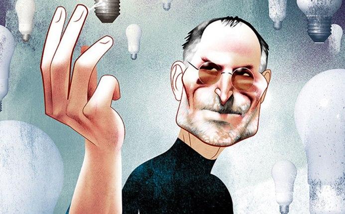 Steve Jobs por André Carrilho