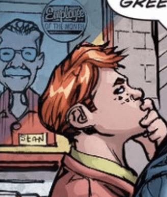 Stan Lee como funcionário do mês em Superman, edição 46.