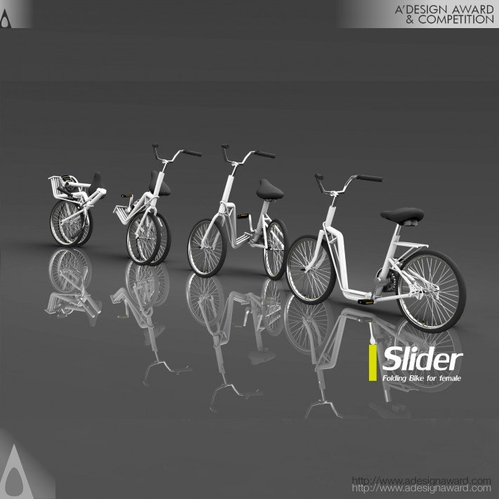 Slider Folding Bike Mulher_Paul Hao