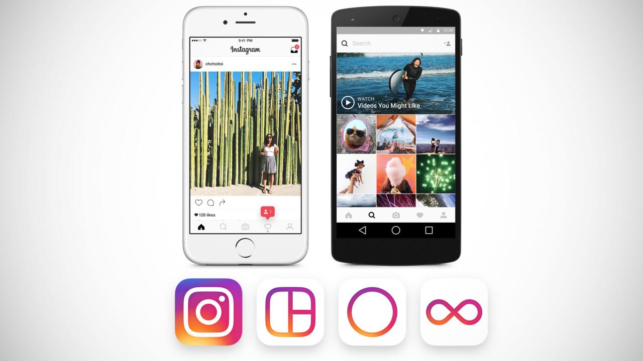Redesign da identidade visual do Instagram