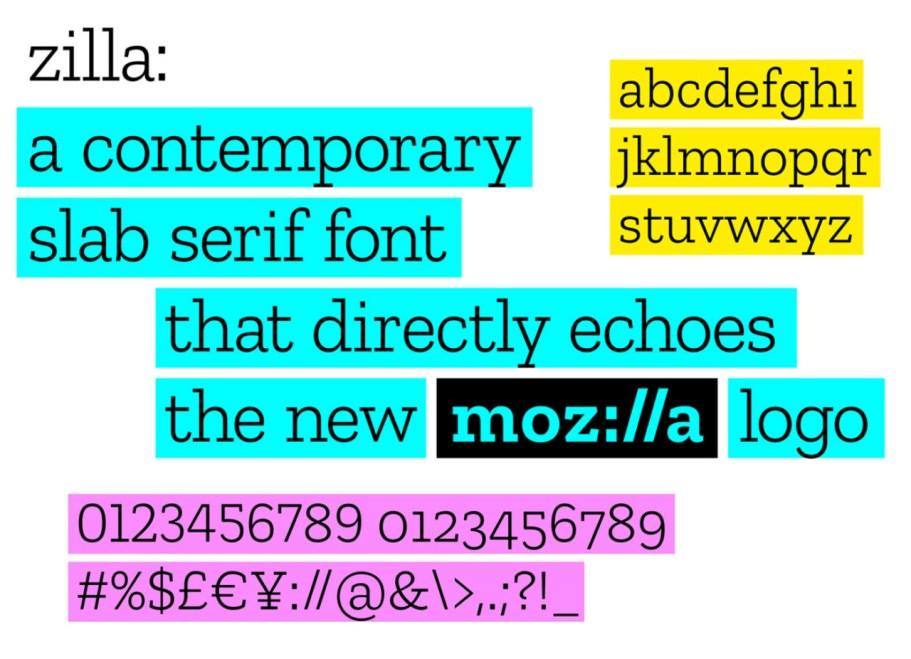 Novo logotipo Mozilla
