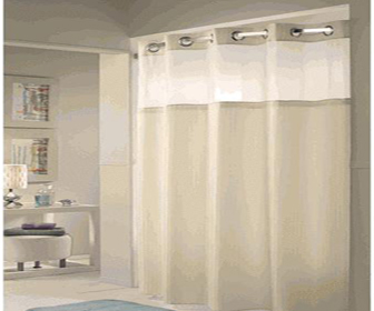 signature hardware launches hookless shower curtains designcurial