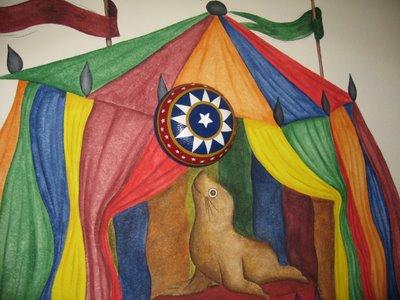 Under The Big Top Circus Room Design Dazzle