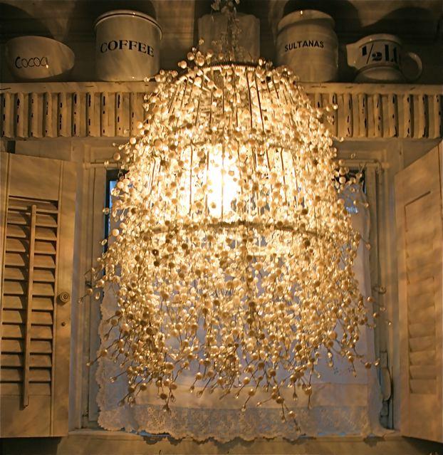 Diy Pearl Strand Lamp