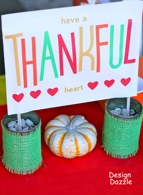 free Thanksgiving printables banner
