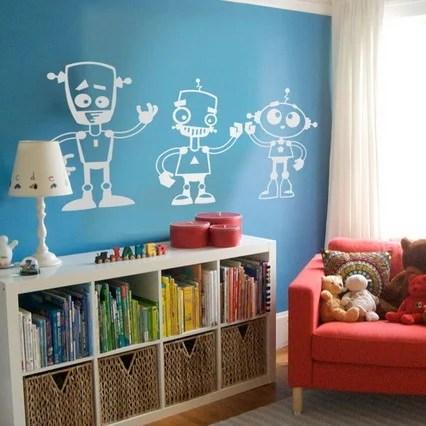 Robot Room Ideas Design Dazzle