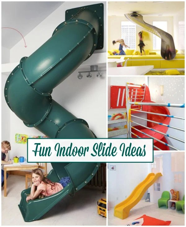 Add An Element Of Fun With Indoor Slides